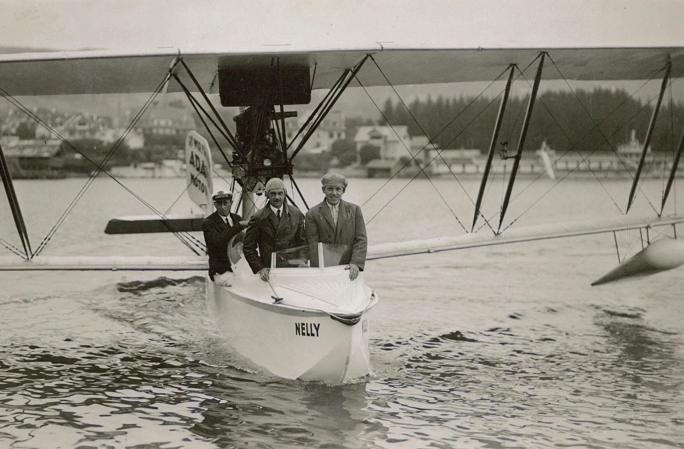 Nelly Wasserflugzeug